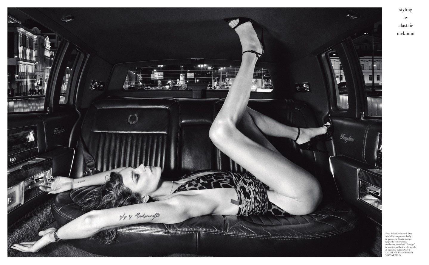 Photo Editor at V Magazine / V Man Goran Macura selects photographer Julien Martinez Leclerc