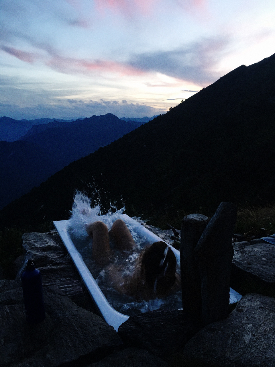 Photographer Rahel Weiss selects mountain baths in Ticino, Switzerland