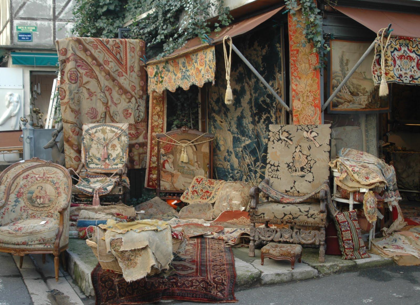Director of Ritual Projects LA Courtney Wittich selects Les Puces de Sant-Ouen flea market in Paris