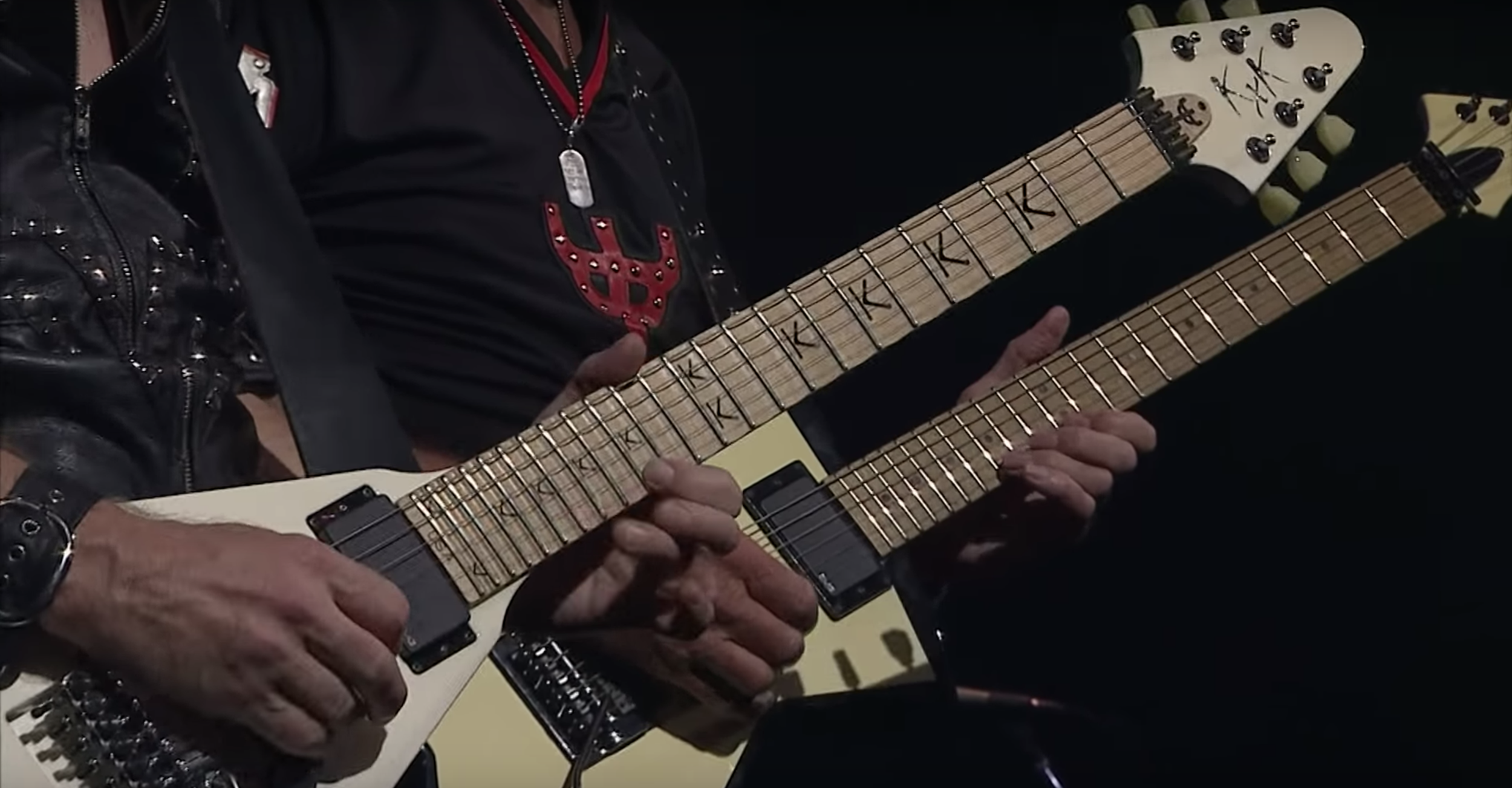 Sarika Rice of Desert Scene London selects Judas Priest live