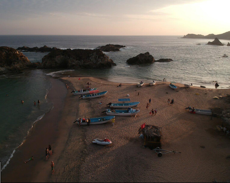 Producer Christian Adams selects San Agustinillo beach in Oaxaca, Mexico.