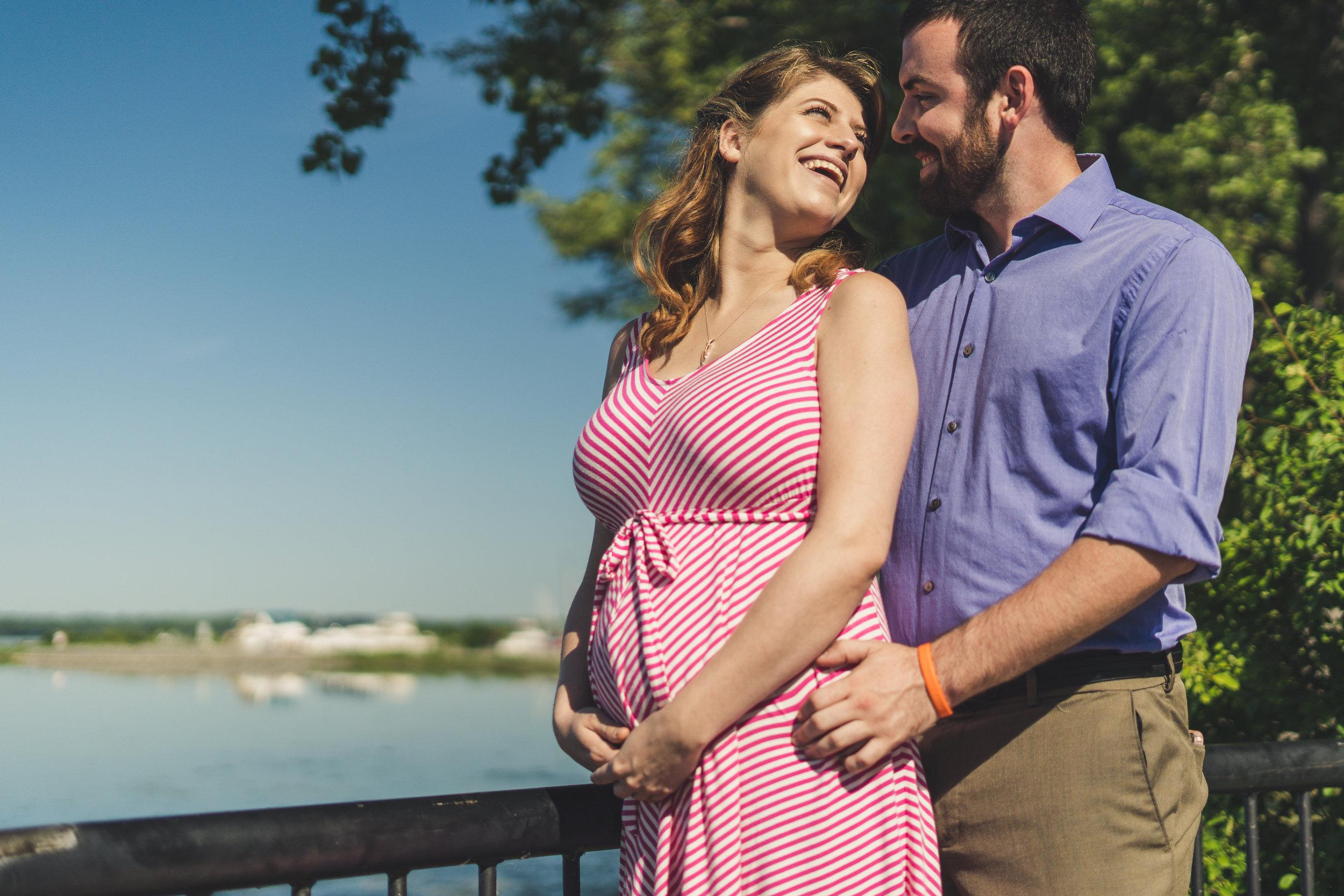 Pregnancy Announcement, Syracuse NY