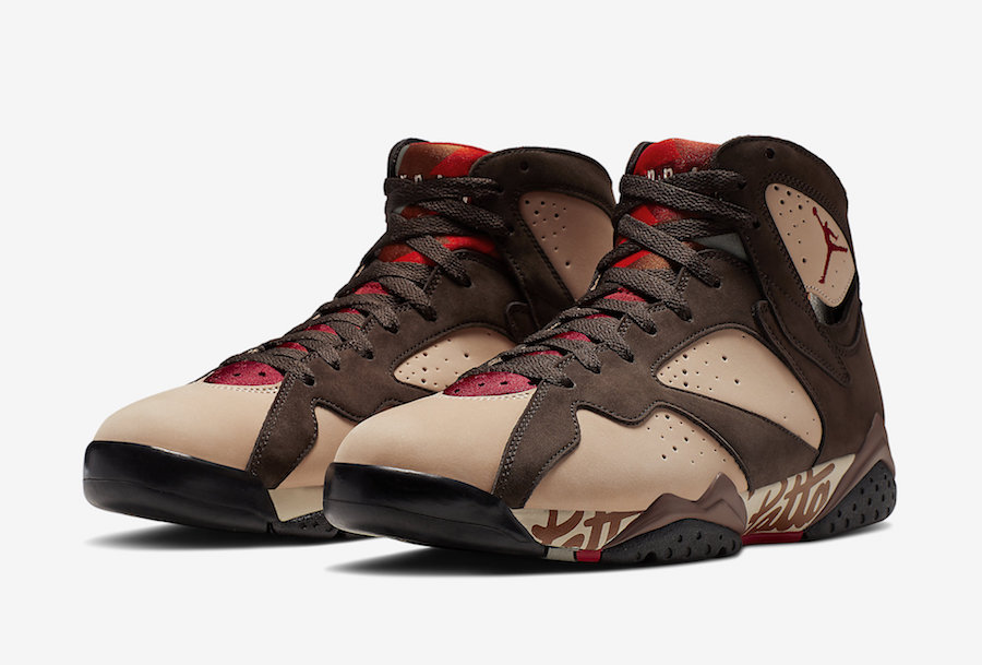 low priced 4c6af 74c76 Nike Air Jordan VII x Patta — THE PANEL