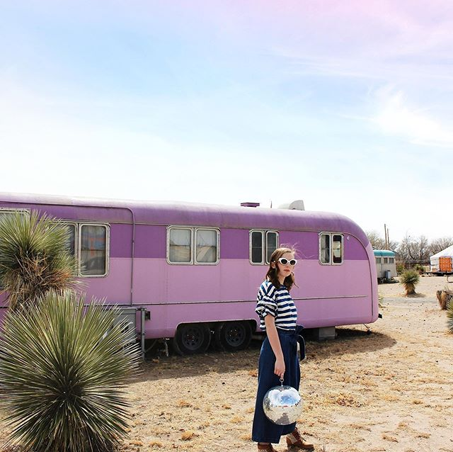. I'm excited for the sunny summer days to come and for hopefully a lot more road trips - like this one we took to Marfa TX for senior photos last year. 💜🌈