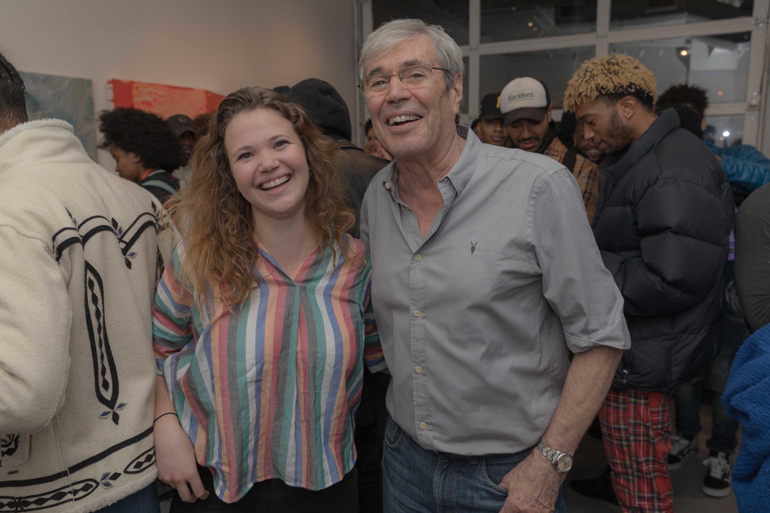 Founder Jean Noel Moneton alongside daughter Andrea Moneton