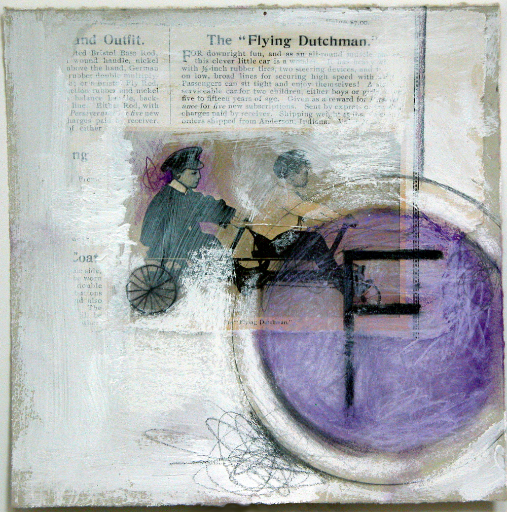 """F is for flying dutchman  10""""x10"""" (sold)"""