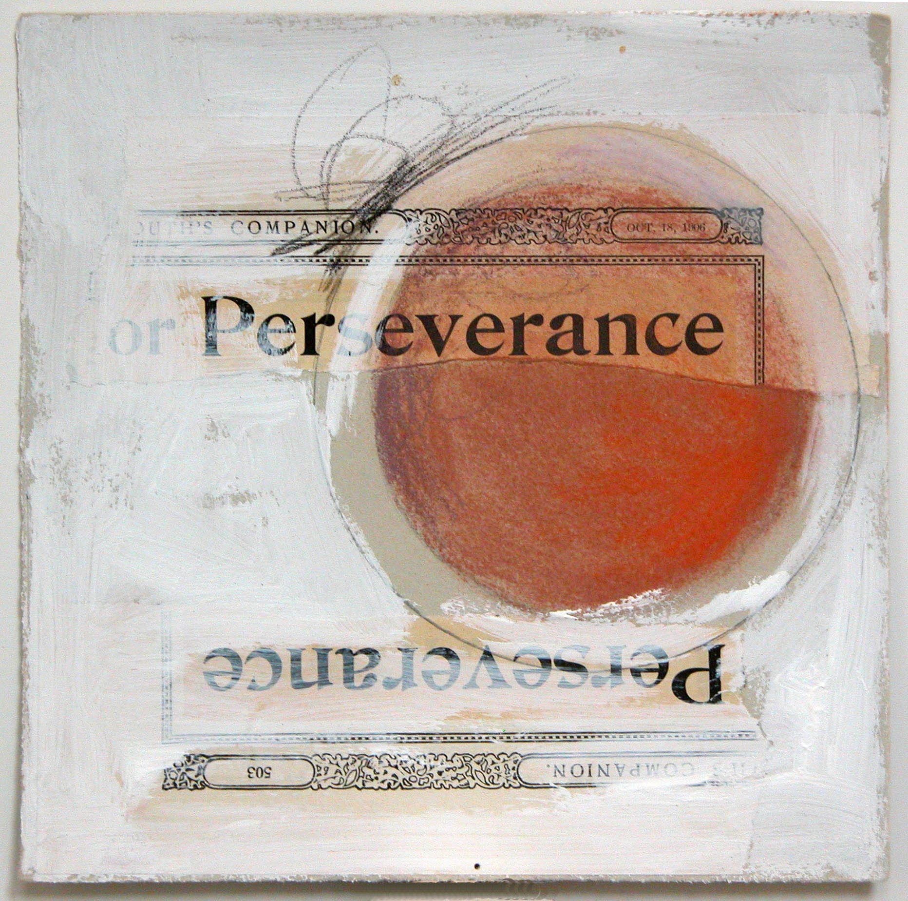 """perseverence  10""""x10"""" (sold)"""