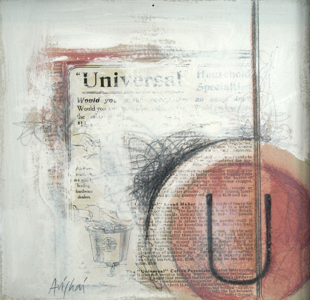 """U is for universal  10""""x10"""""""