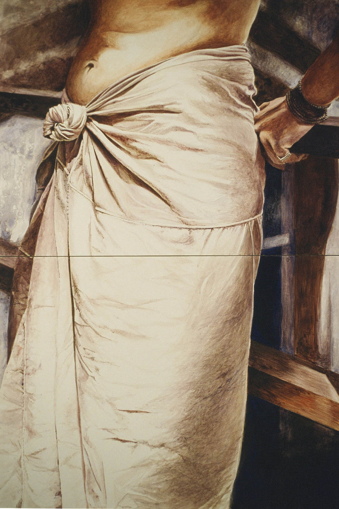 """knotted skirt  39""""x31"""""""
