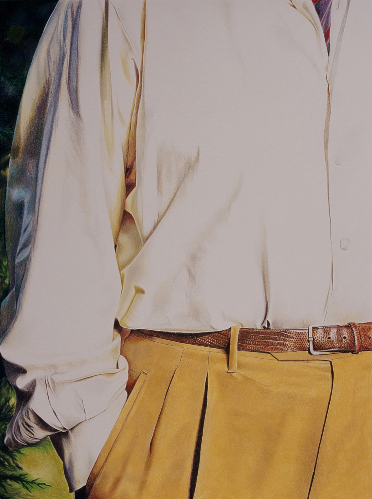 "Roger's yellow slacks   30""x24"""