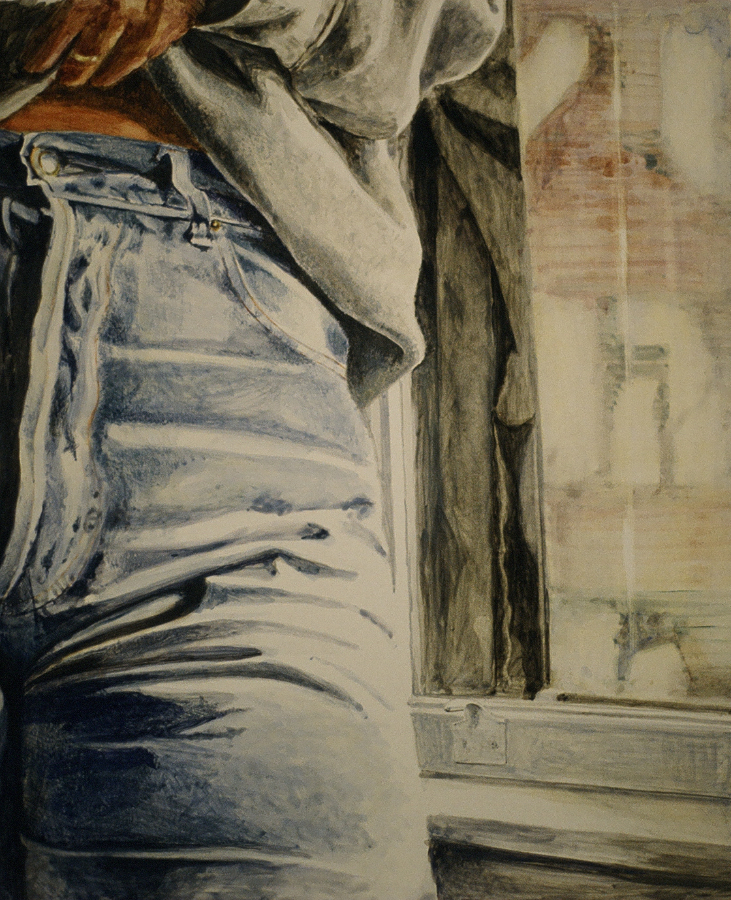 """by the window  10""""x8""""  (sold)"""