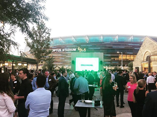 What a night in Perth to launch Crocmedia WA for 2019!