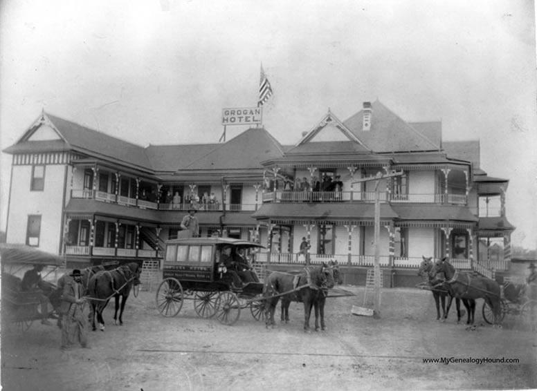 Grogan Hotel, 1907