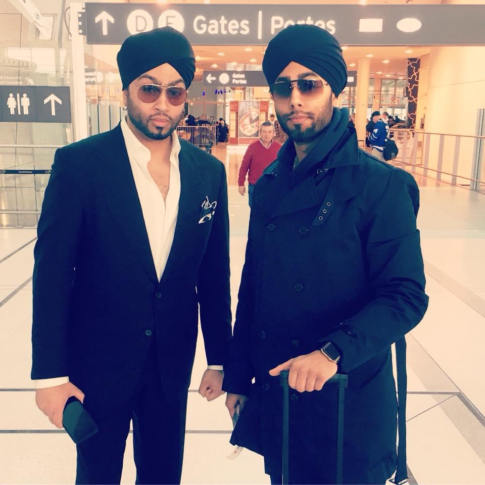 with Joraver Singh (Stylist-Designer) - YYZ Pearson Airport - 2018.jpg