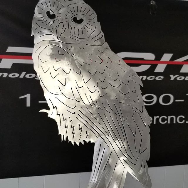 Have a hoot this Thanksgiving weekend. From your friends at TrackerCNC.
