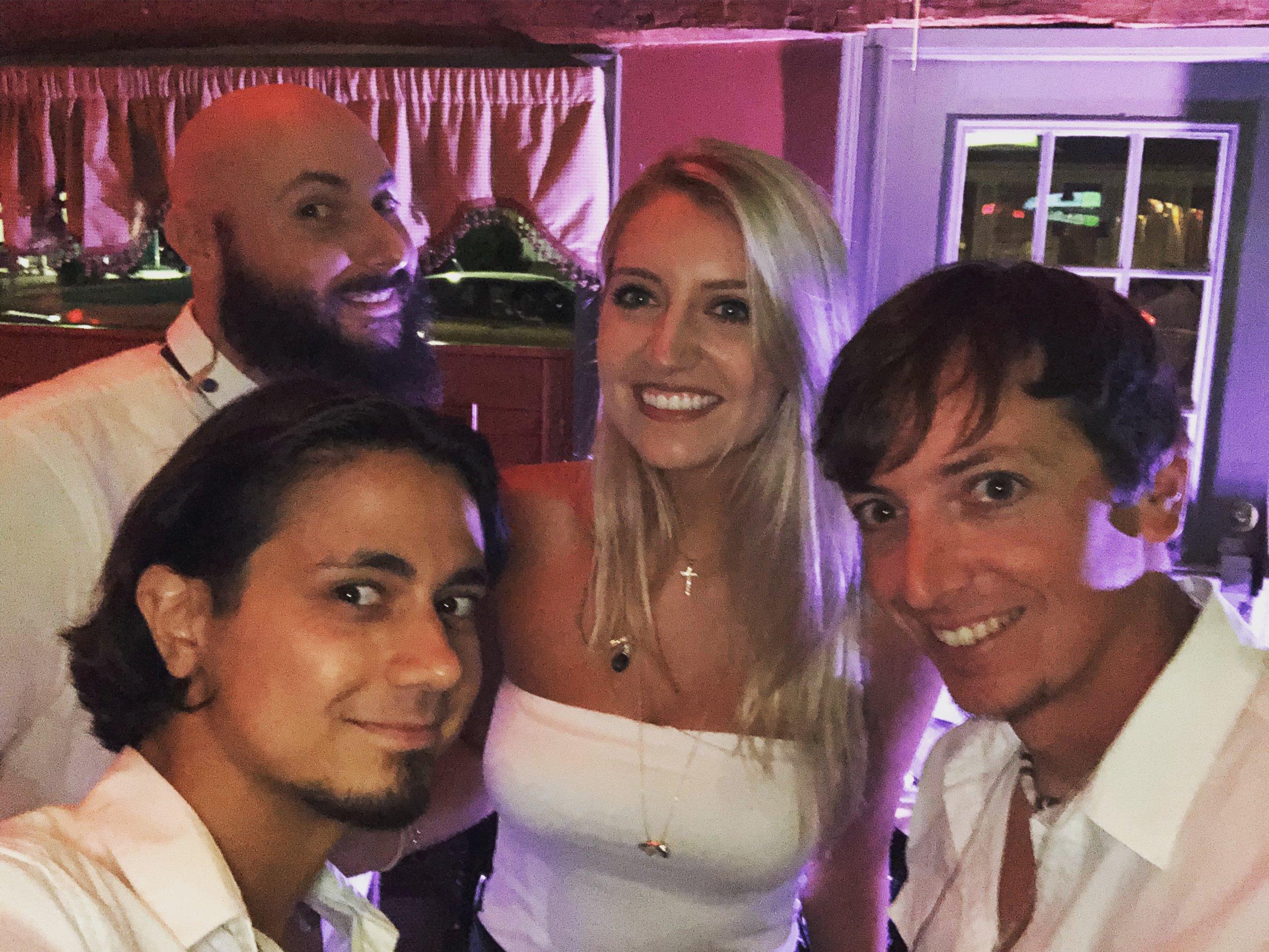 TheSweetTalkers_StageHouse_Selfie.JPG
