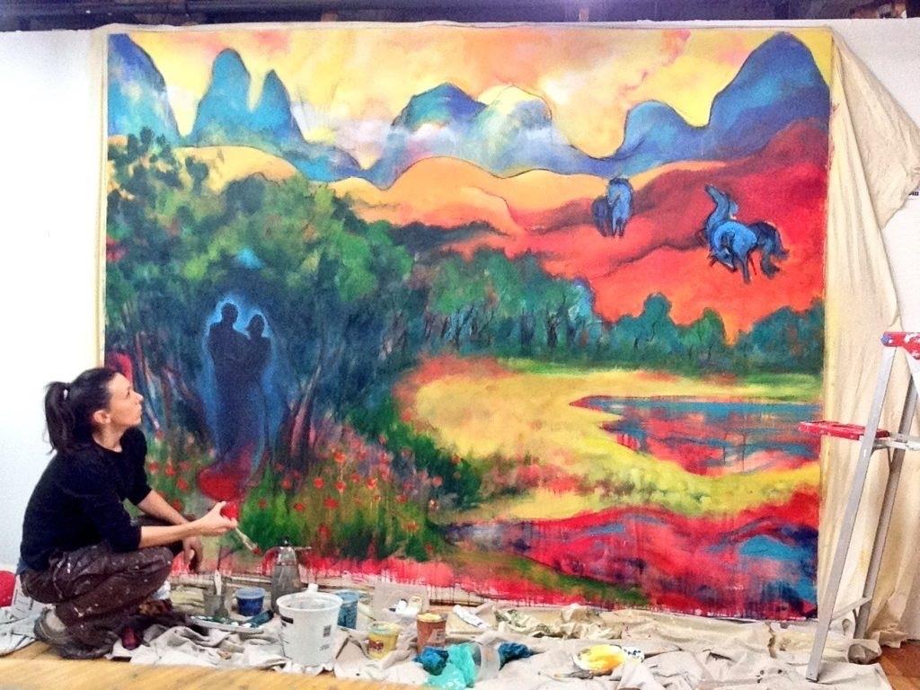 in studio - in progress - always