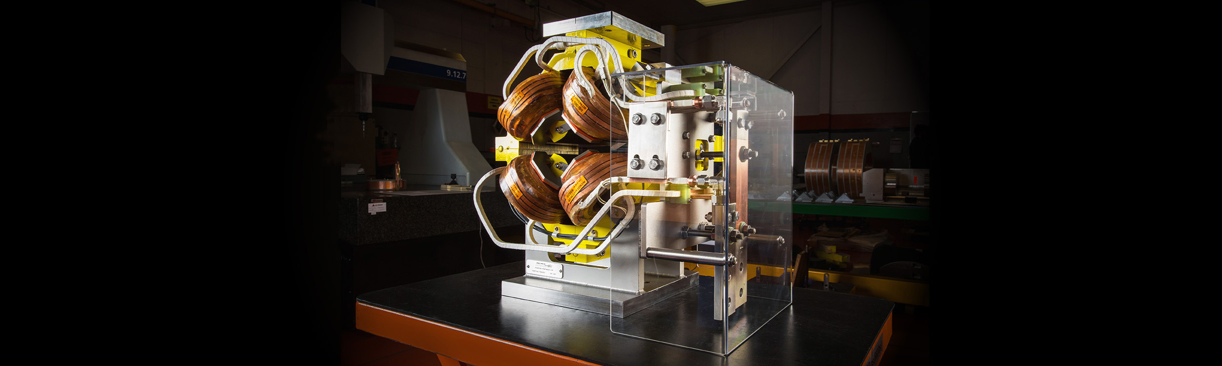Beam Transport Quadrupole for Hadron Therapy