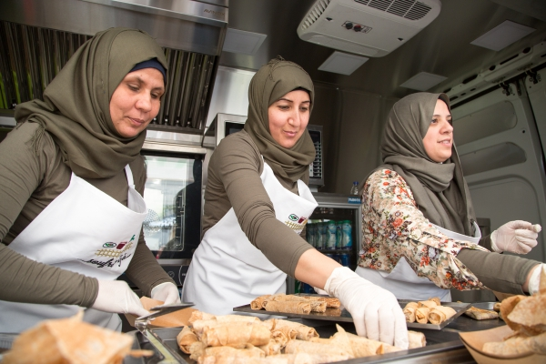 Incredible Woman Created a Catering Company to Help Employ Palestinian Refugee Women    My Modern Met