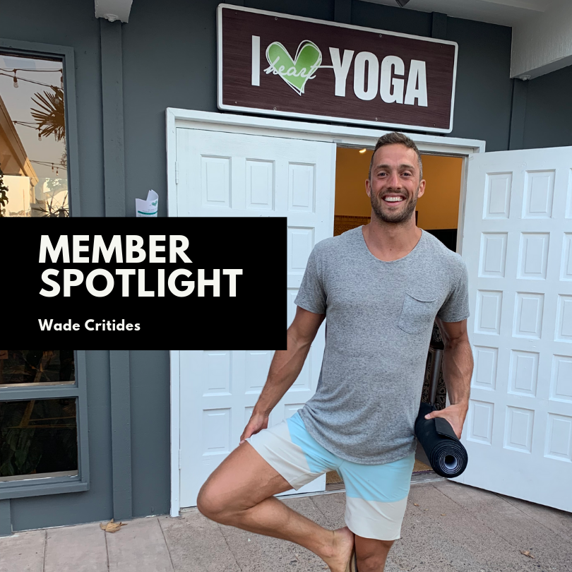 - His entire approach to completing the journey was a focused mind, diet, and spirit to overcome anything! We loved seeing Wade in the Studio, iHeartYoga in the Park, and around town getting his mind sharp for his first marathon! You are super-human Wade and we're so glad we could help be a part of your mental training!