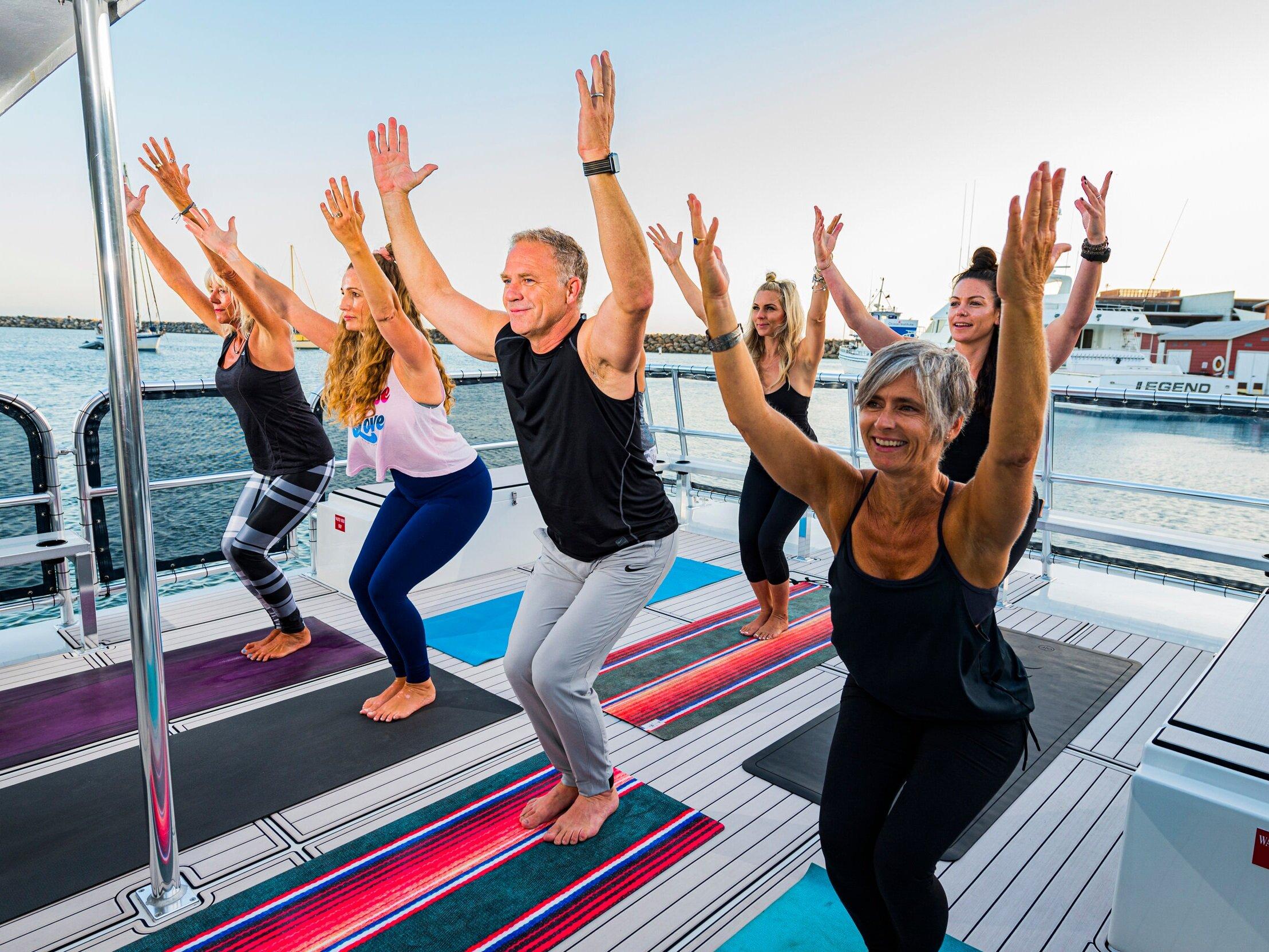 60 Minute Yoga Class at Sea