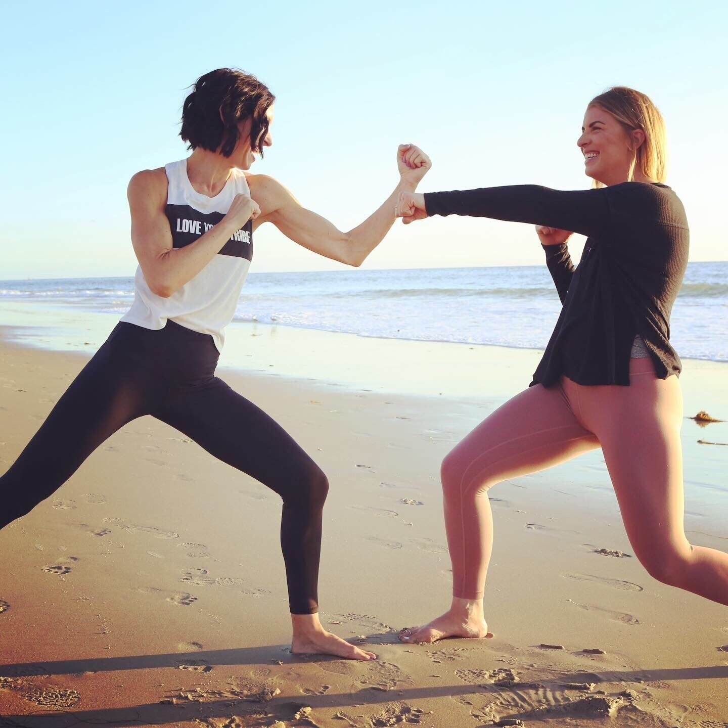 55 Minutes of Barre + Kickboxing -
