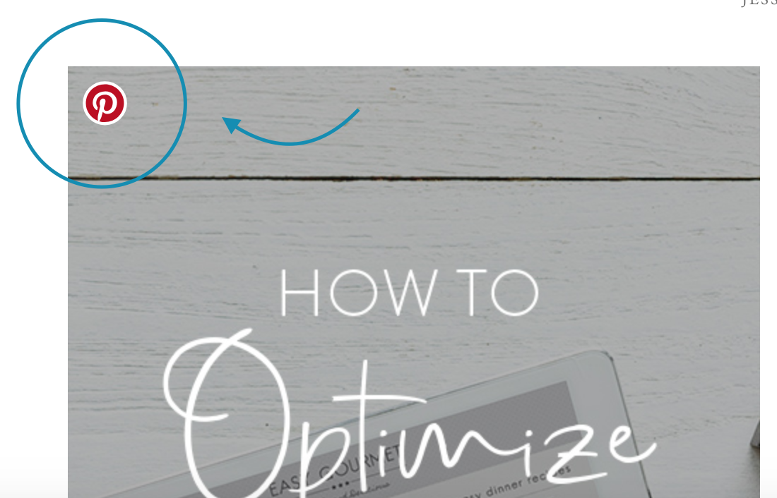 This is the easiest way to make sure that others are able to pin your content themselves!