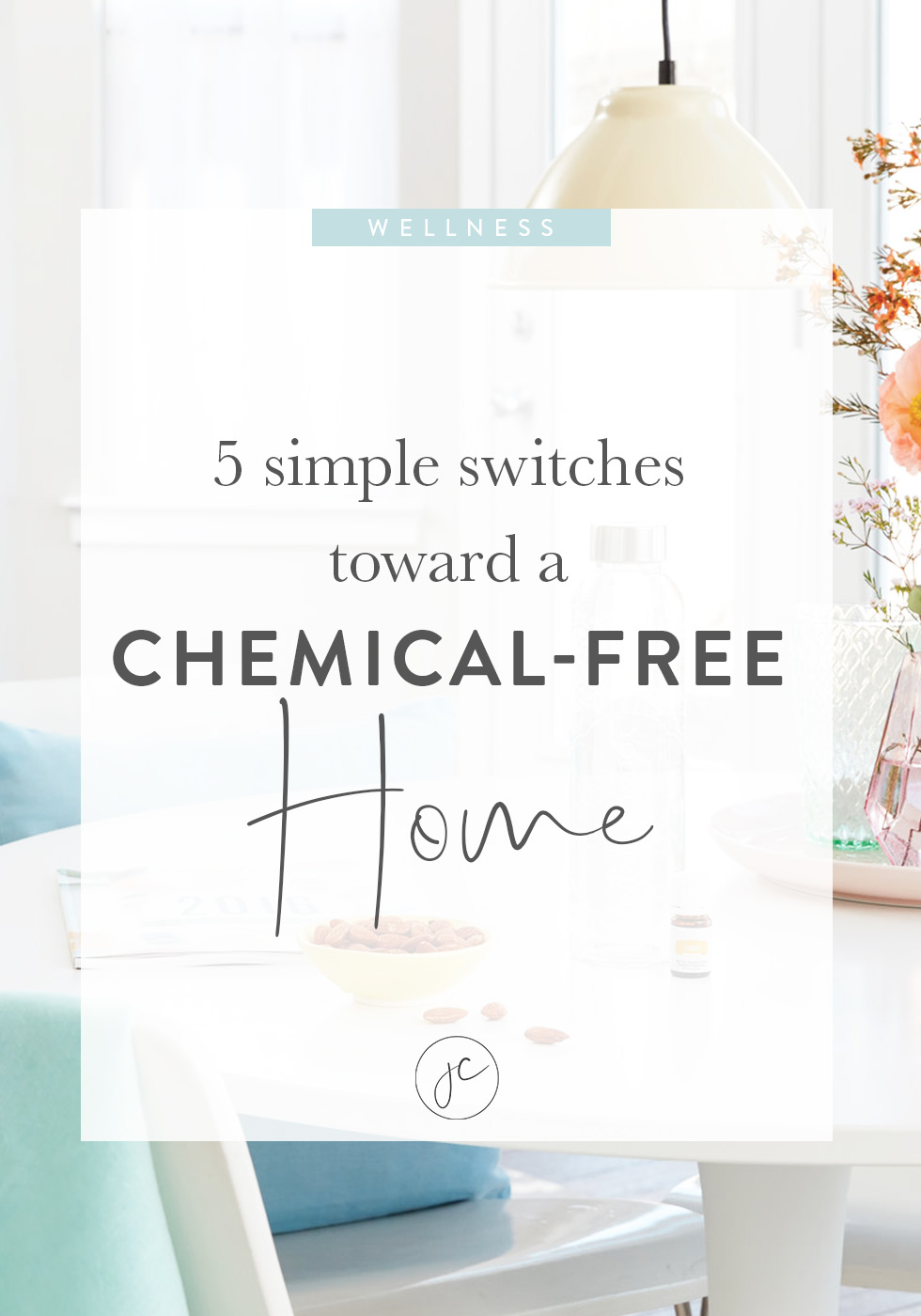 5 Simple Switches Toward a Chemical Free Home