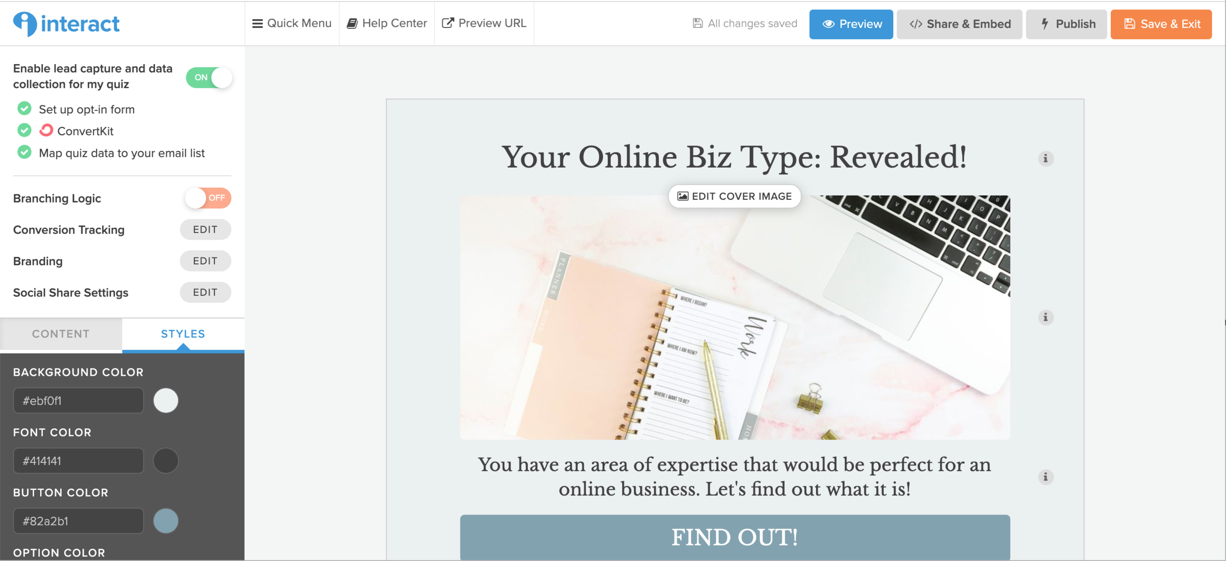 How to Use a Quiz to Grow Your Email List with Interact