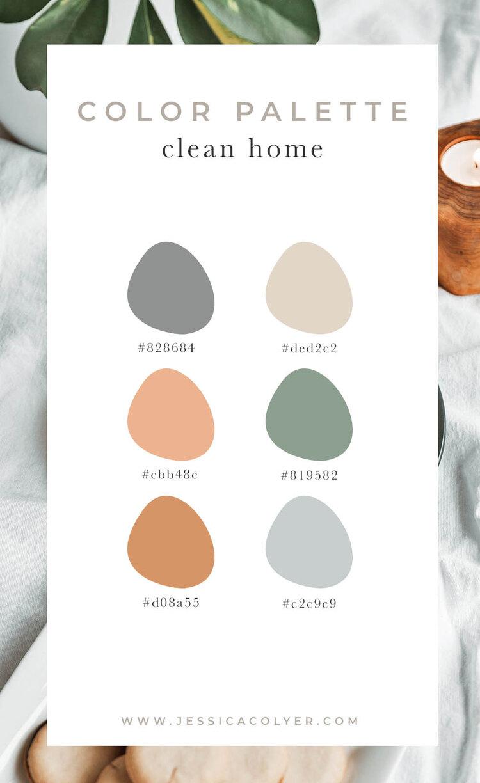 Clean Home Color Palette