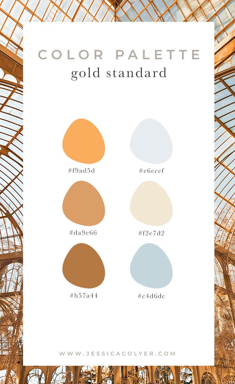 Gold Standard Color Palette