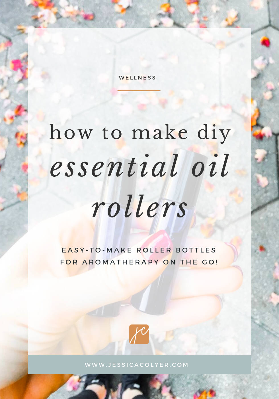 How to Make DIY Essential Oil Rollers