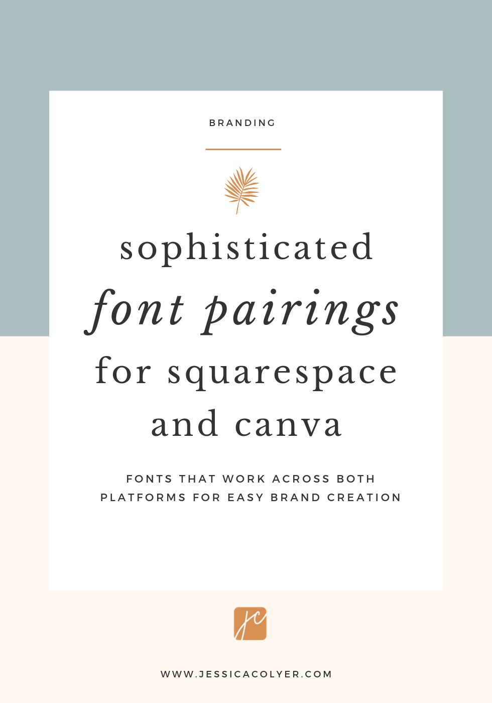 Font Pairings for Squarespace and Canva