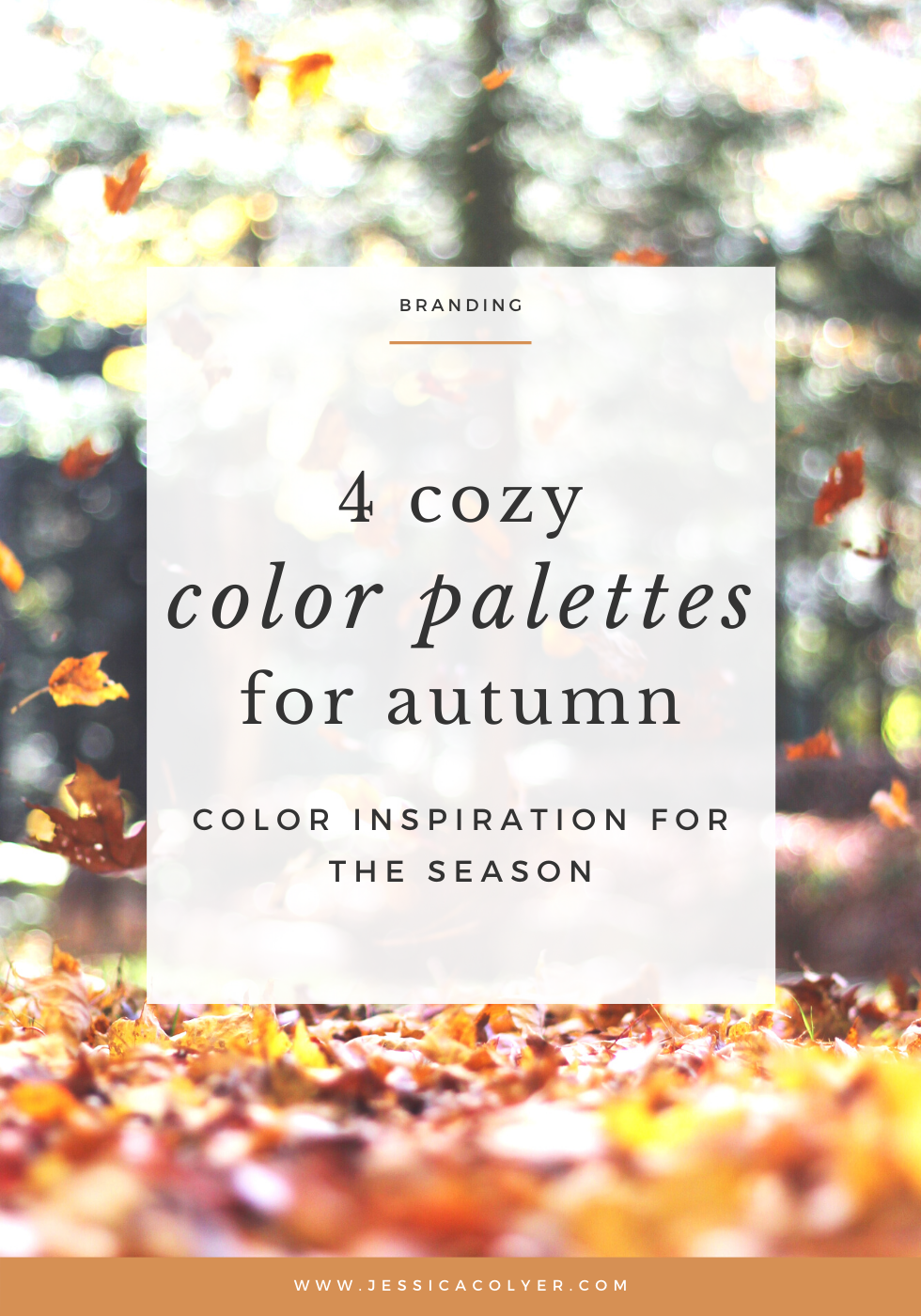4 Cozy Color Palettes for Autumn