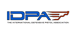 IDPA logo with embedded link.
