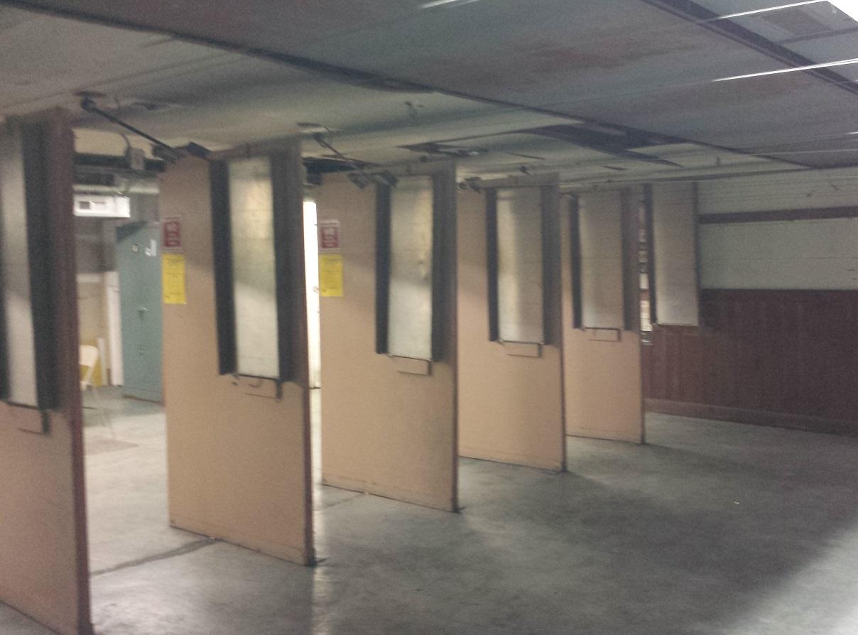 Original shooting stalls.
