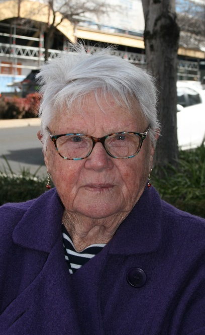 """Margaret Chapman moved to Orange when she was 17. """"We used to have snow that would hang around for days…Our winters were much colder."""""""