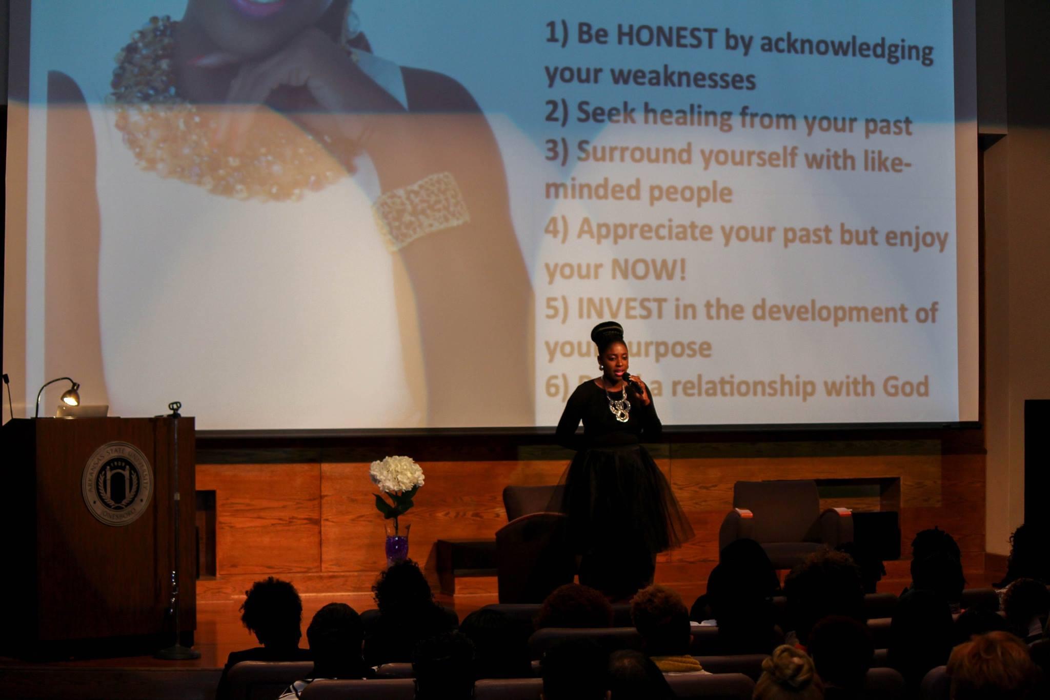 Speaking-Arkansas Univ.jpg