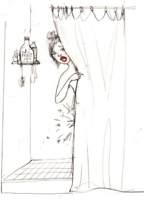 TICK, TICK, BOOM! ORIGINAL ILLUSTRATION EDWINA WHITE