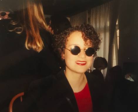 IT WAS THE 80's.. but what was I thinking. I may have inspired the sunglasses for The Matrix
