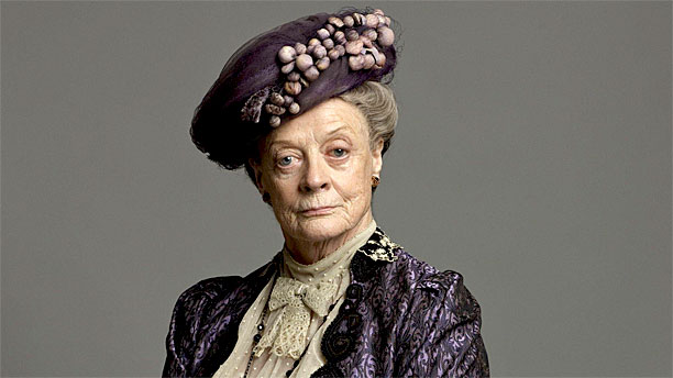 WHO DOESN'T LOVE A BIT OF DAME MAGGIE SMITH IN DOWNTON ABBEY AND A GLASS OF SHIRAZ... WELL KEITH FOR ONE.