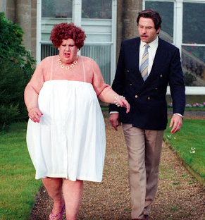 THANK GOODNESS THE PAP SHOT NEVER GOT A RUN.. (PIC COURTESY OF LITTLE BRITAIN AKA BUBBLES DEVERE)