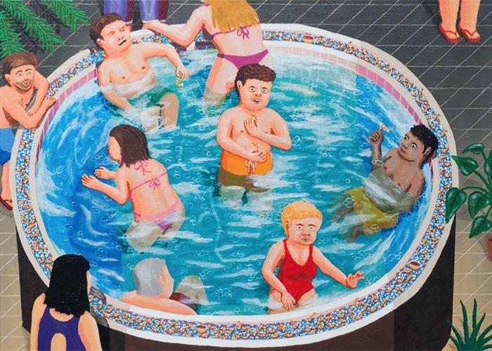 Endless Samples  , Acrylic on Canvas, 2015