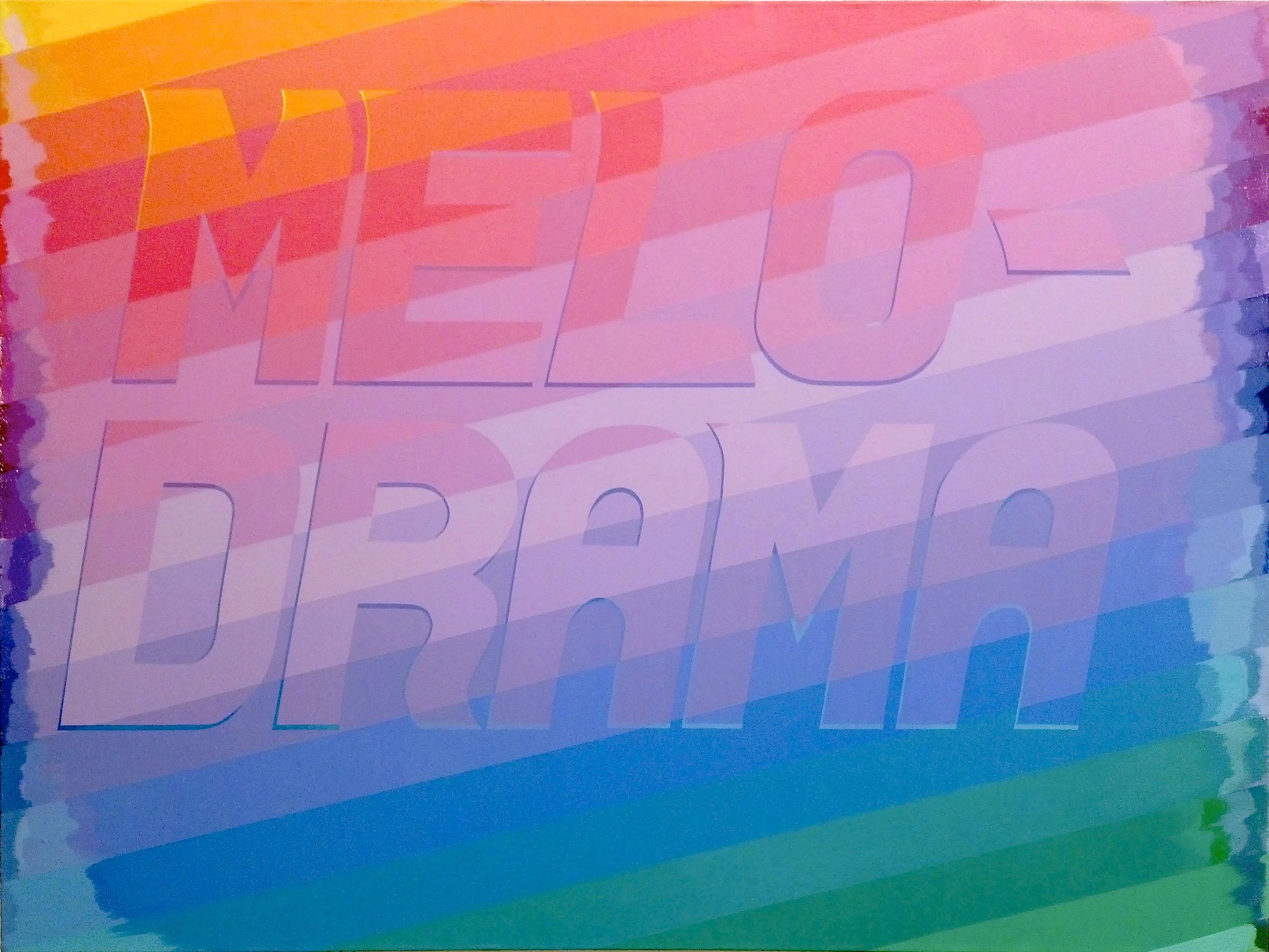 Mellow Drama , acrylic on linen, 2015
