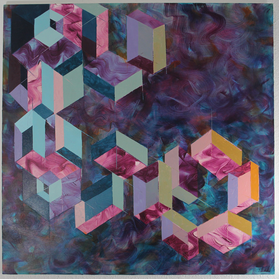 Shadow  , oil on canvas, 2018