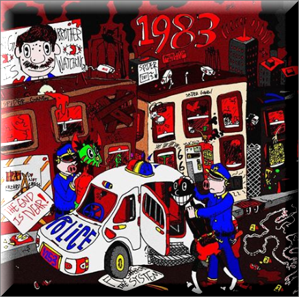 "Above is the cover art to his song ""1983""."