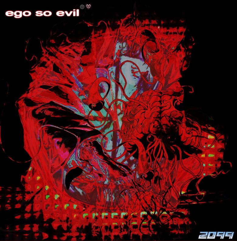 "Above is the cover art of ""Ego So Evil"" yet to be released."