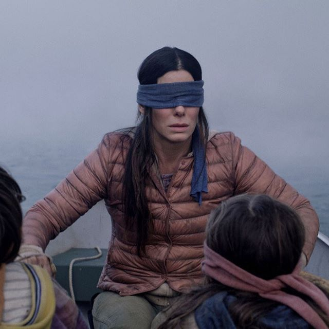 Us when we came back after a month a half hiatus thinking no one will notice... WE BACK BOOS!  Join us for a discussion about the Netflix phenom BIRD BOX!  Listen on Libsyn, Apple Podcasts, or wherever you listen to podcast. And please avoid creepy Gary and his drawings. . . . . . . . . . . . . . #filmpodcast #moviepodcast #womenwhopodcast #femalepodcast #femalelead #ladypodsquad #shedpodcasts #podcastnetwork #podernfamily #podcastcommunity #entertainmentpodcast #movies #moviestills #sandrabullock #boozymovies #boozeinmovies #sandyb #birdbox #netflix