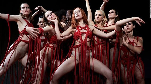 Have you seen SUSPIRIA starring Dakota Johnson, Tilda Swinton, Tilda Swinton, and well... Tilda Swinton?! Then join H&J for their discussion about the 2018 remake where they chat Mother Markos, strange prosthetics, and violent dance moves. Link in bio! . . . . . . . . . . .  #boozymoviespod #boozymovies #suspiria #suspiriamovie #suspiria2018 #tildaswinton #dakotajohnson #killerdancemoves #podcasting #ladypodsquad #womenwhopodcast #horrorfilms