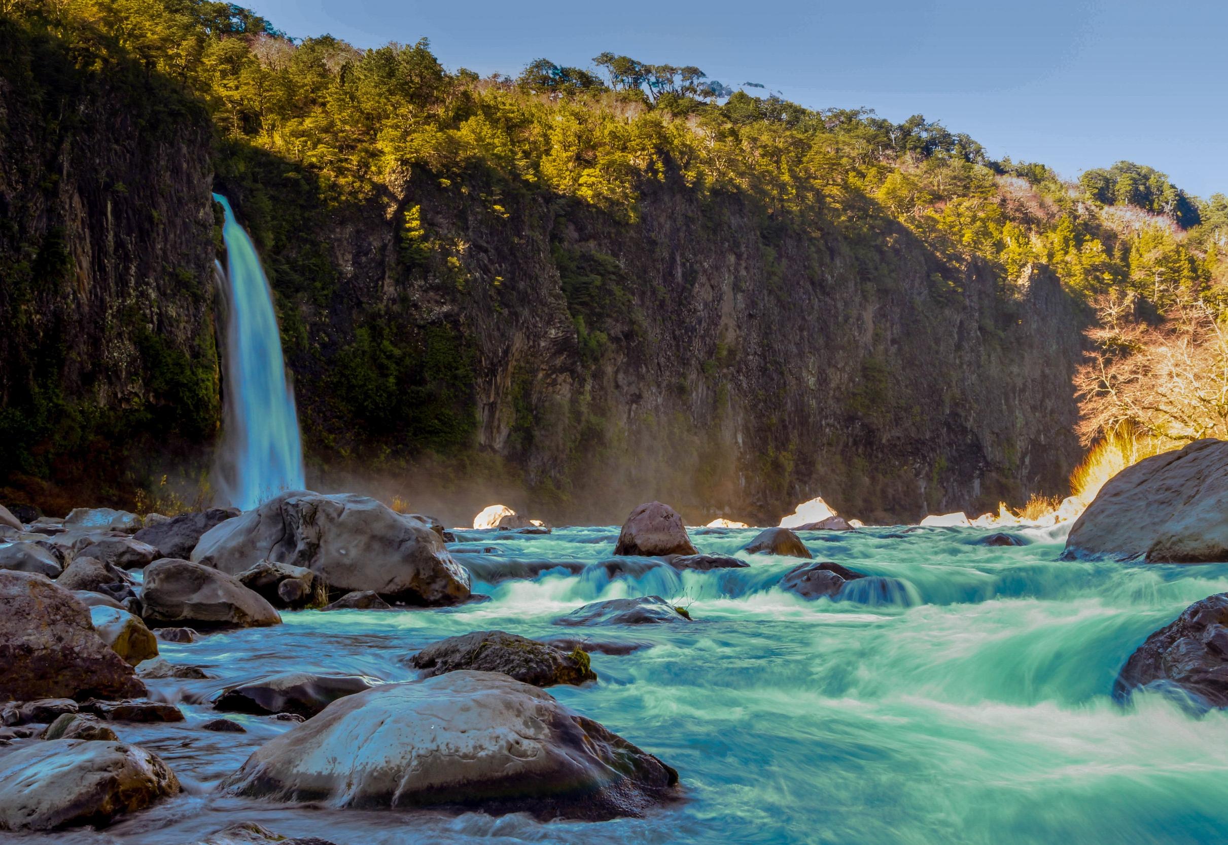 Gran río Biobío / Butaleubu
